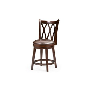 Reviews Ferrao 24 Swivel Bar Stool by Darby Home Co Reviews (2019) & Buyer's Guide
