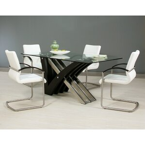 Charlize 5 Piece Dining Set by Impacterra