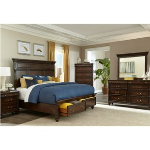 Louvre Storage Panel Bed by Canora Grey Best Design