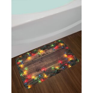 Christmas at Countryside Bath Rug