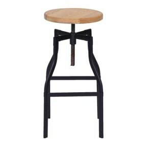 Organic Modernism Adjustable Height Swivel Bar Stool