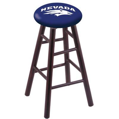 NCAA Vanity Stool Holland Bar Stool Color: Dark Cherry, NCAA Team: University of Nevada