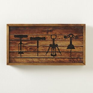 'Corkscrew' Wall Art by Fleur De Lis Living