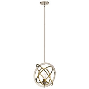 Wrought Studio Serenity 1-Light Globe Pendant