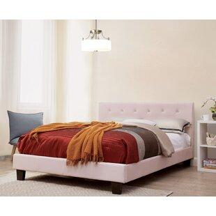 Iberia Upholstered Platform Bed by Brayden Studio