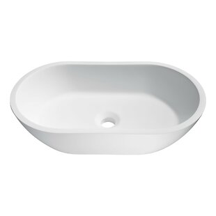 Great choice Runifer Stone Oval Vessel Bathroom Sink By ANZZI