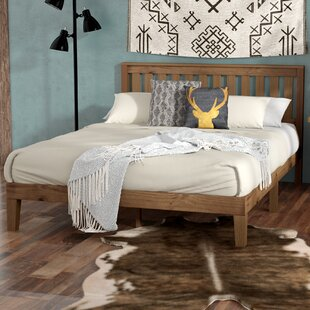 Loon Peak Sison Wood Platform Bed