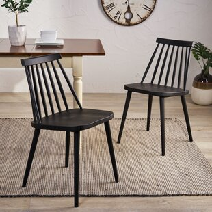 best website e76c6 573a7 Black Spindle Dining Chairs | Wayfair