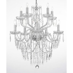 House of Hampton Ketchum 10-Light Candle Style Chandelier