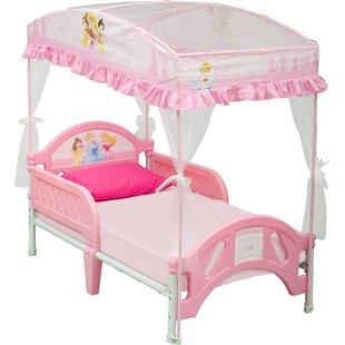 Disney Princess Toddler Bed  sc 1 st  Wayfair & Disney Princess Canopy Bed | Wayfair