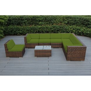 Baril 8 Piece Sectional Set with Cushions