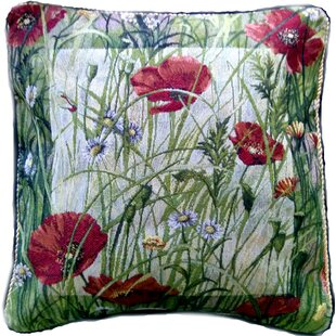 Poppy Field Pillow Case (Set Of 2) by Tache Home Fashion Amazing