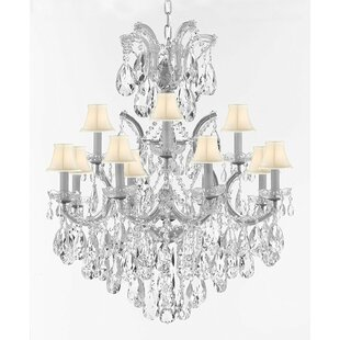 Astoria Grand Alvarado 13-Light Shaded Chandelier