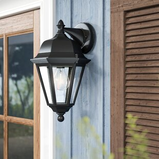 Affordable Price Listermann 1-Light Outdoor Wall Lantern By Alcott Hill