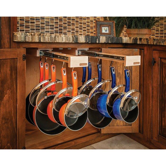 Glideware Kitchen Pot and Pan Organizer Hook