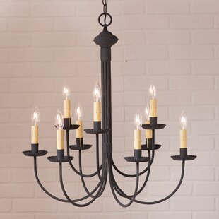 Gracie Oaks Hurst 9-Light Candle Style Ch..