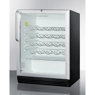 36 Bottle Single Zone Built-In Commercial Wine Cooler