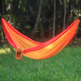 Novica Hang Ten Parachute Nylon Camping Hammock