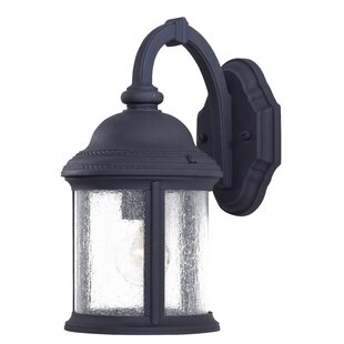 Comparison Hancock 1-Light Outdoor Wall Lantern By Great Outdoors by Minka