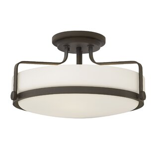 Heliotrope 3-Light Semi Fl..