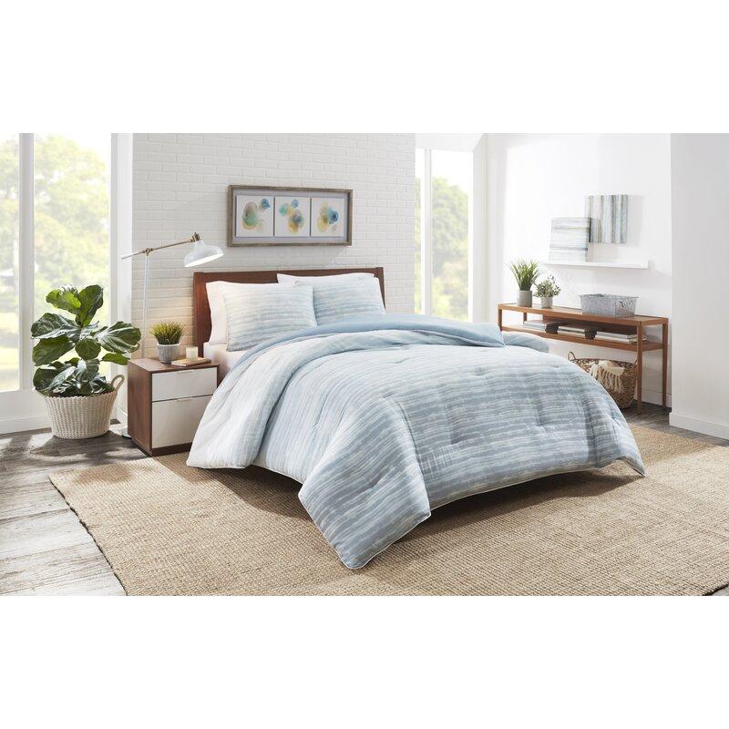Highland Dunes Rascon Reversible Comforter Set Reviews Wayfair
