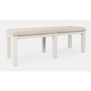 Dilan Solid Wood Bench by August Grove