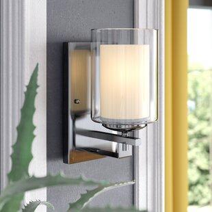 Comparison Nettie 1-Light Wall Sconce By Zipcode Design