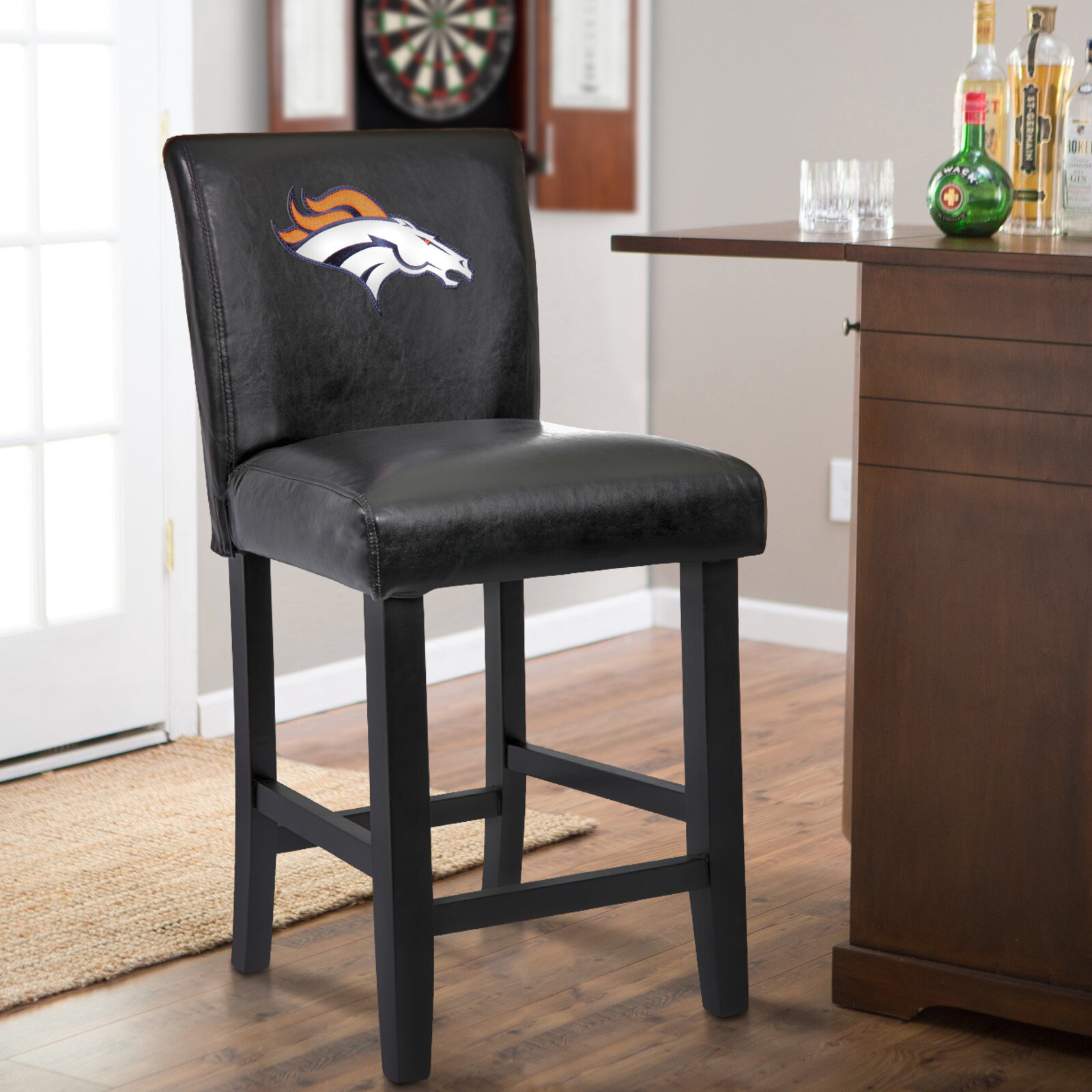 Surprising 24 Upholstered Bar Stool Evergreenethics Interior Chair Design Evergreenethicsorg