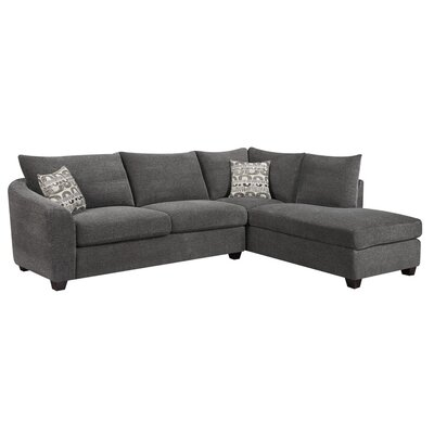 Olson 116  Right-Facing Sectional  sc 1 st  Joss u0026 Main : right facing sectional - Sectionals, Sofas & Couches