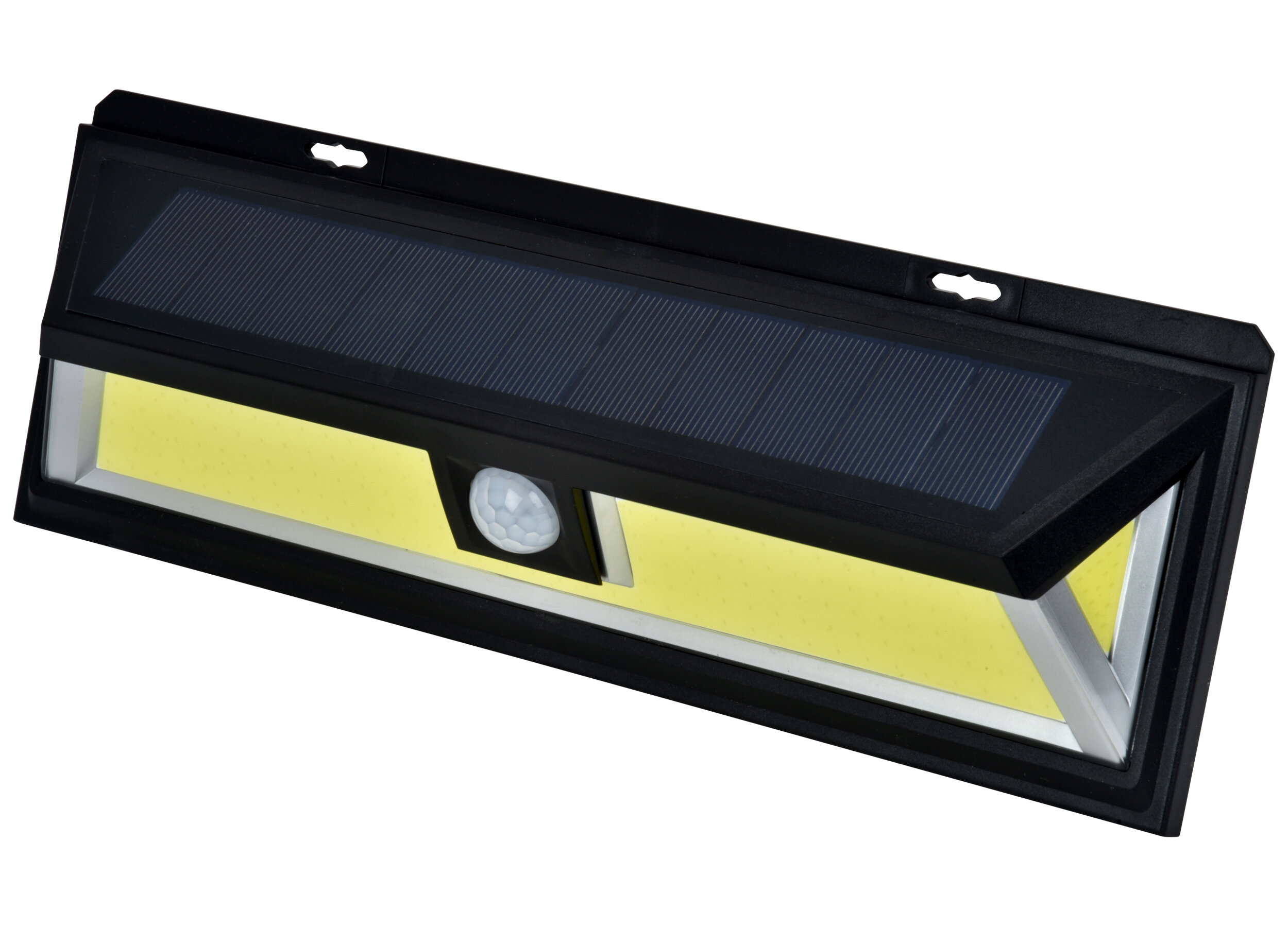 Mighty Power Led Solar Power Outdoor Security Wall Pack With Motion Sensor Wayfair