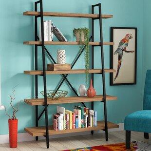 Best Reviews Champney Ladder Bookcase ByZipcode Design
