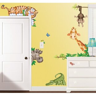 In The Jungle Super Jumbo Appliqué Wall Decal