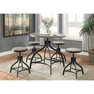 Millner 5 Piece Counter Height Dining Set
