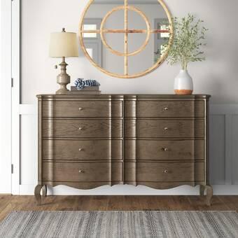 Astoria Grand Tweedy Wooden 5 Drawer Chest Wayfair