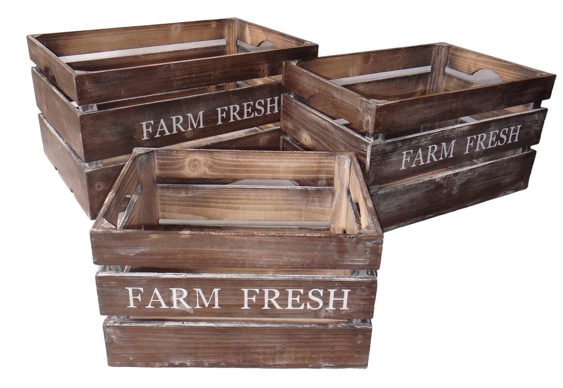 3 piece wood planter box set - Wood Planter Box
