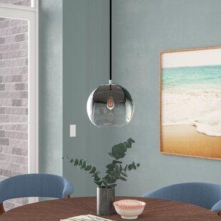 1-Light Globe Pendant by Langley Street