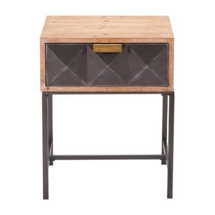 Mercer41 Caledonia End Table with Storage