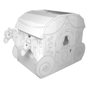 Princess Carriage 4.88' Playhouse By My Very Own House
