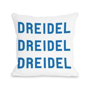 Dreidel Throw Pillow
