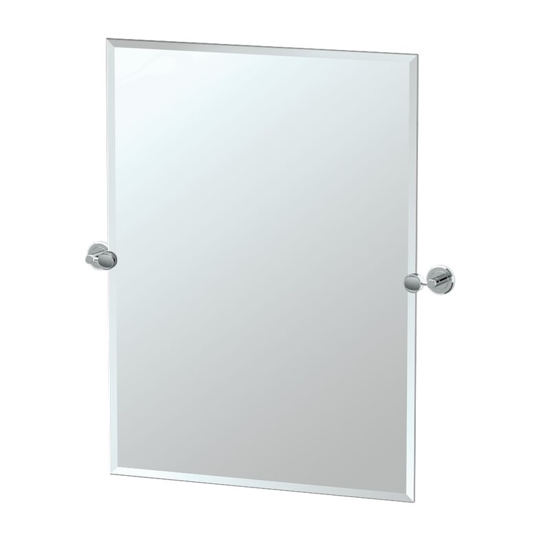 Latitude II Rectangle Bathroom Wall Mirror