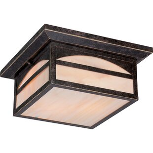 Loon Peak Dissinger 2-Light Outdoor Flush Mount