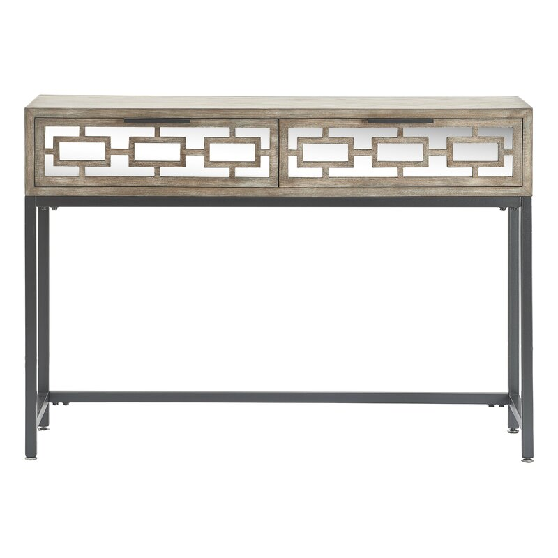 Hayworth Mirrored Coffee Table: Tommy Hilfiger Hayworth Mirrored Console Table & Reviews