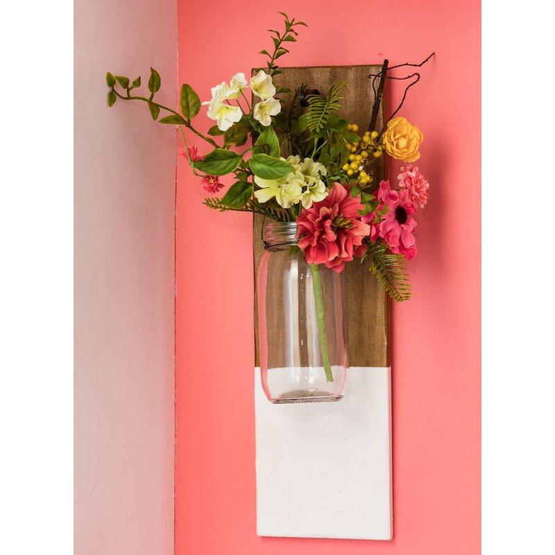 Gracie Oaks Hanging Jar Wall Decor Wayfair