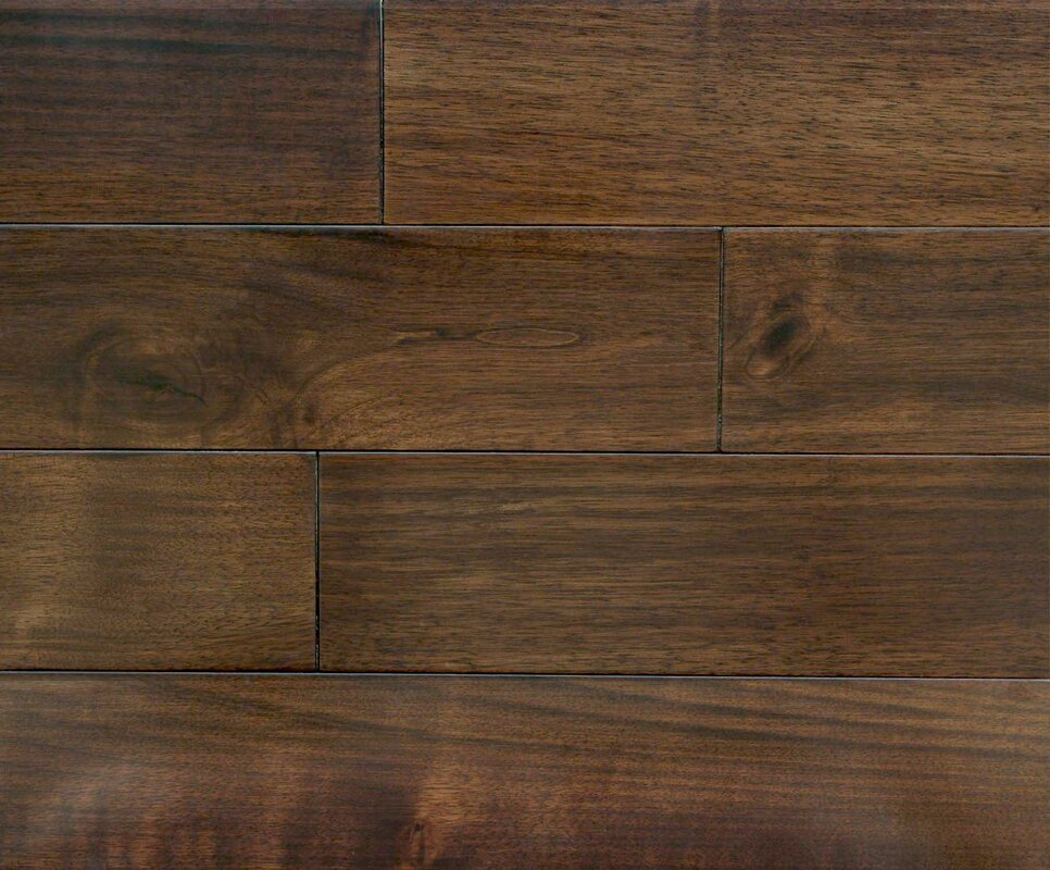 "Winchester 7"" Solid Walnut Hardwood Flooring in Walnut"