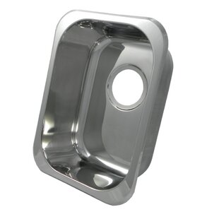 12 inch  L X 16 inch  W Bar Sink