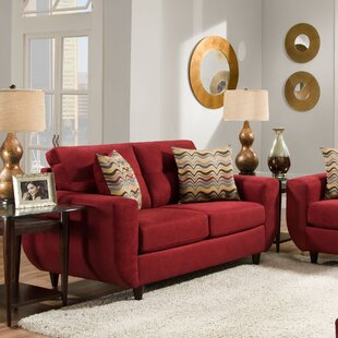 Affordable Price Simmons Upholstery Gudino Loveseat by Brayden Studio Reviews (2019) & Buyer's Guide