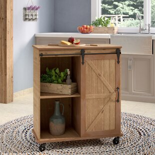 Banbury MultiPurpose Wooden Rolling Kitchen Cart