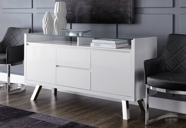 Sleek White Sideboards + Buffets · Counter Height Bar Stools. Shop Dining  Furniture By Category