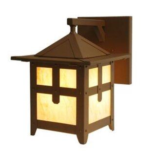 Purchase Hillcrest 1-Light Outdoor Wall Lantern By Steel Partners