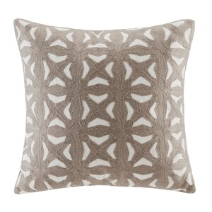 Nova Embroidered Throw Pillow